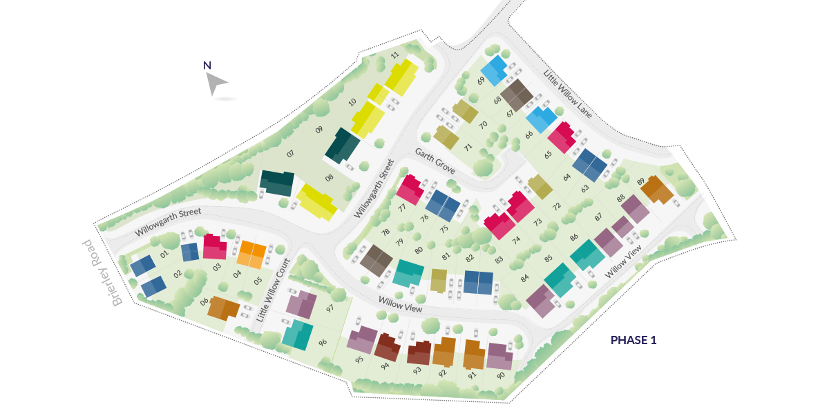 Willowgarth sitemap